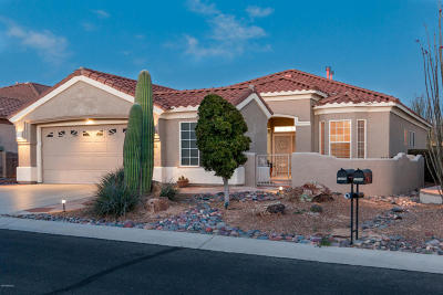 Marana Single Family Home Active Contingent: 13254 N Sunset Mesa Drive