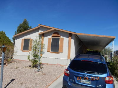 Tucson AZ Manufactured Home For Sale: $90,000