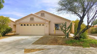 Tucson Single Family Home Active Contingent: 2211 W Silver River Way