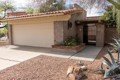 Tucson Townhouse For Sale: 8461 N Via Tioga