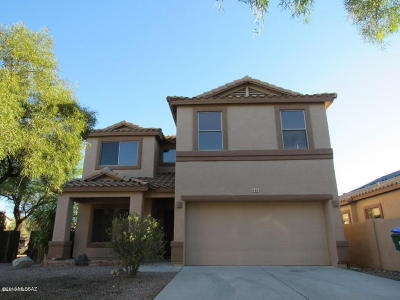 Sahuarita Single Family Home For Sale: 165 E Thomas Jefferson Way