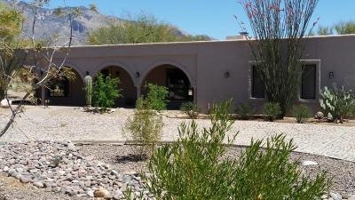 Tucson Single Family Home Active Contingent: 6270 N Camino De Michael