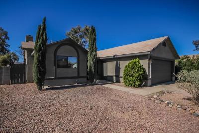 Tucson Single Family Home Active Contingent: 5125 W Malachite Place