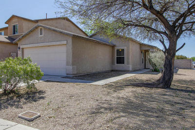 Pima County, Pinal County Single Family Home Active Contingent: 6222 S Sun View Way