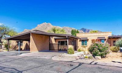 Pima County Townhouse Active Contingent: 8172 N Gibraltar Drive
