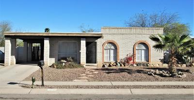 Tucson Single Family Home For Sale: 2836 W Calle Del Huerto