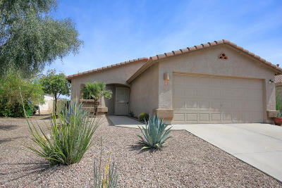 Tucson Single Family Home Active Contingent: 6562 W Plomosa Place