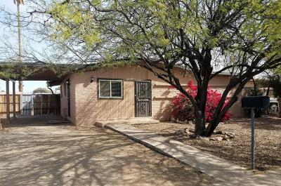 Pima County Single Family Home Active Contingent: 3755 E Garden Street