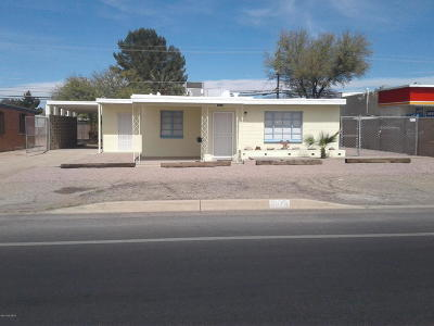 Pima County Single Family Home Active Contingent: 3013 E 22nd Street