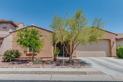 Pima County Single Family Home Active Contingent: 662 W Camino Curvitas