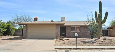 Tucson Single Family Home For Sale: 3771 W Raintree Drive