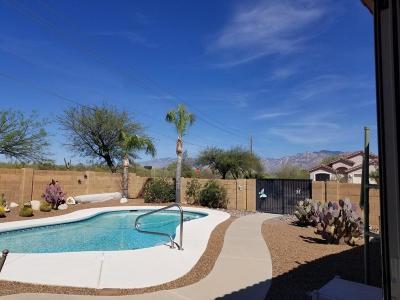 Tucson Single Family Home Active Contingent: 3508 W Lenihan Lane