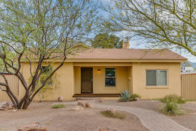 Tucson Single Family Home Active Contingent: 3255 E Flower Street