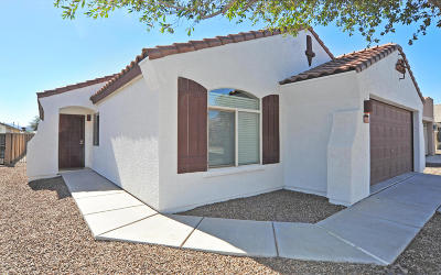 Tucson Single Family Home Active Contingent: 7857 W Mural Hill Drive