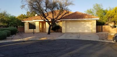 Oro Valley Single Family Home Active Contingent: 10090 N Mashie Lane