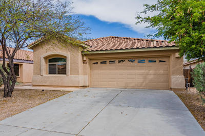 Pima County, Pinal County Single Family Home Active Contingent: 7213 E Cherrywood Street