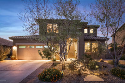 Oro Valley Single Family Home For Sale: 10855 N Avenida Vallejo