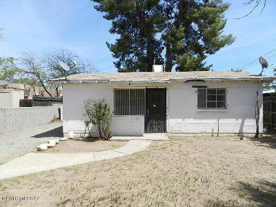 Tucson Single Family Home For Sale: 1432 N Catalina Avenue