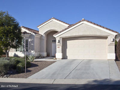 Marana Single Family Home For Sale: 5372 W Leatherflower Lane