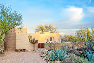 Tucson Single Family Home Active Contingent: 5410 N Genematas Drive