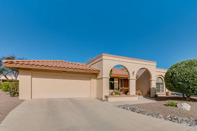 Oro Valley Single Family Home Active Contingent: 14455 N Choctaw Drive