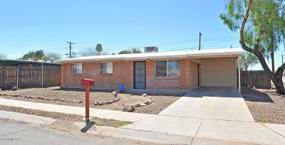 Tucson Single Family Home Active Contingent: 2065 W Amy Drive