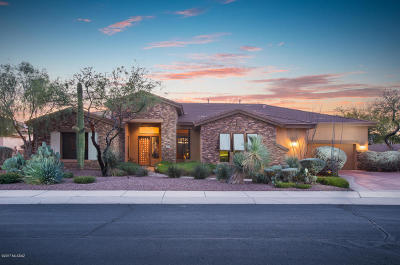 Oro Valley Single Family Home For Sale: 13853 N Steprock Canyon Place
