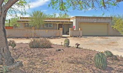 Tucson Single Family Home Active Contingent: 5264 Coronado Place