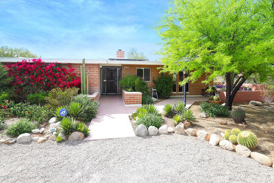 Tucson Single Family Home Active Contingent: 6435 N Camino De Michael