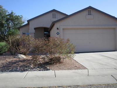 Pima County Single Family Home Active Contingent: 3689 W Sunbonnet Place