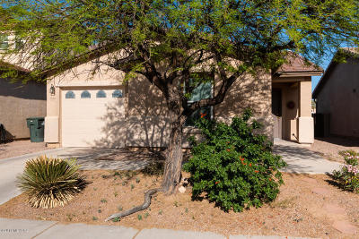Pima County Single Family Home Active Contingent: 3382 N Sierra Springs Drive