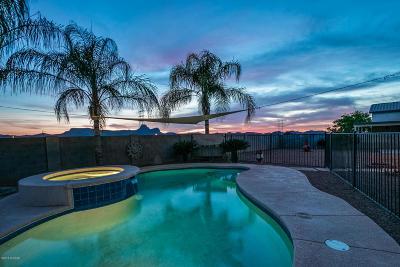 Tucson Single Family Home For Sale: 5739 W Cortaro Crossing Drive