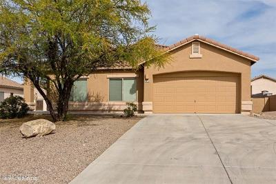 Tucson Single Family Home Active Contingent: 4435 S Camino De Oeste