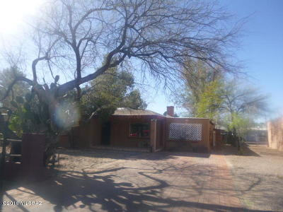 Pima County Single Family Home Active Contingent: 3308 E Elida Street