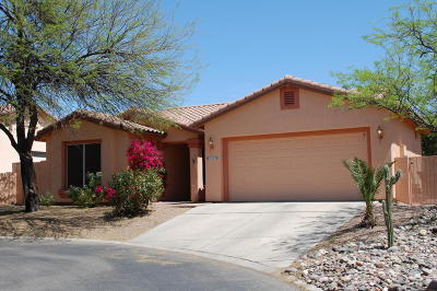 Pima County Single Family Home Active Contingent: 9900 N Crystal Spring Place