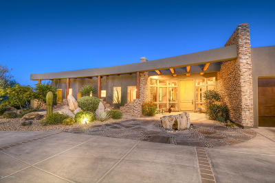 Oro Valley Single Family Home For Sale: 1083 W Vistoso Highlands Drive