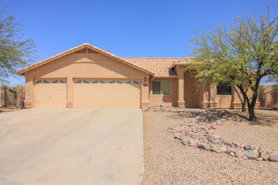 Pima County Single Family Home Active Contingent: 7082 W Adamsgate Place