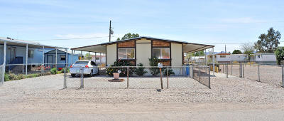 Pima County Manufactured Home Active Contingent: 2917 W Palmyra Street