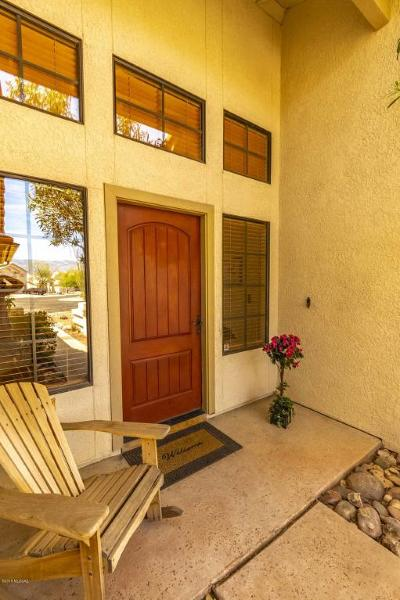 Oro Valley Single Family Home Active Contingent: 11317 N Copper Springs Trail