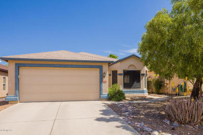 Single Family Home Active Contingent: 9133 E Muleshoe Street