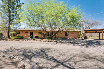 Tucson Single Family Home For Sale: 10951 E Linden Street