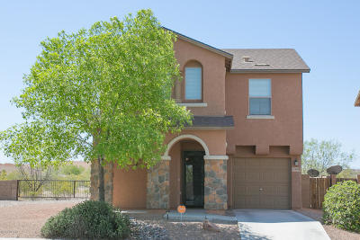 Pima County, Pinal County Single Family Home Active Contingent: 5308 E Desert Straw Lane