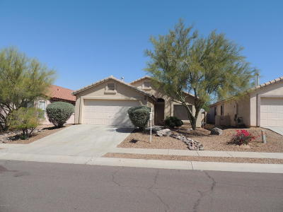 Pima County Single Family Home Active Contingent: 5548 W Dove Of Peace Drive