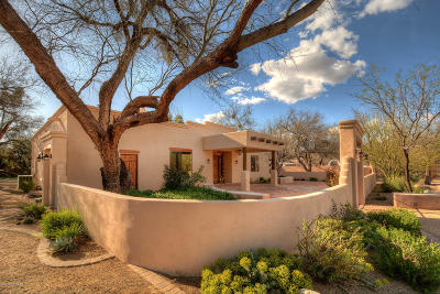 Tucson Single Family Home For Sale: 11209 E Shady Lane