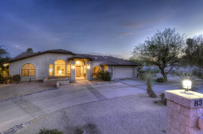 Tucson Single Family Home Active Contingent: 8320 E Brookwood Drive
