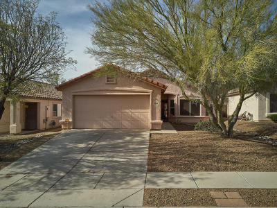 Marana Single Family Home Active Contingent: 5562 W Peaceful Dove Place