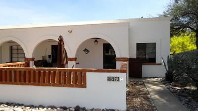 Pima County, Pinal County Condo For Sale: 273 D S Paseo Tierra