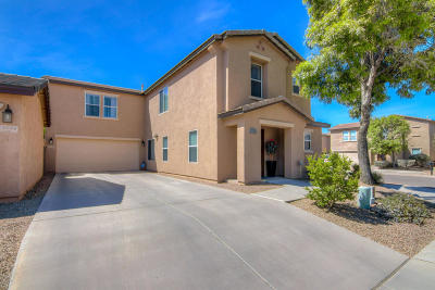 Pima County Single Family Home Active Contingent: 4136 E Babbling Brook Drive