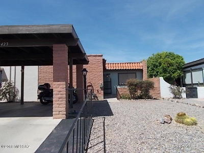 Pima County, Pinal County Townhouse For Sale: 423 N Calle De Lumbre