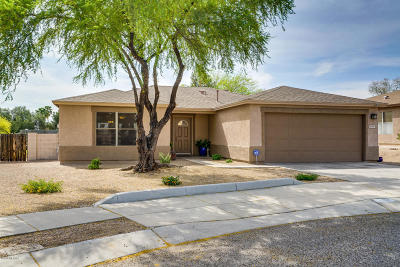 Single Family Home Active Contingent: 2196 S Thunder Tanner Drive